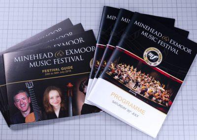 Minehead Music Festival Programme Booklet