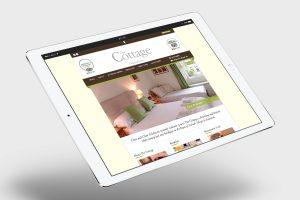 The Cottage website