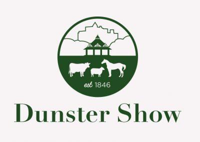 Dunster Show logo logo design