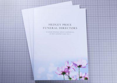 Hedley Price Funeral Directors Presentation Folder