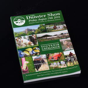 Dunster Show programme