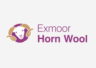 Exmoor Horn Wool logo design
