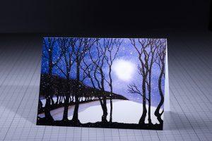 Exmoor Artist Jo Down Christmas Card