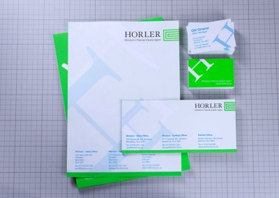 Horler Letterheads and Business stationery