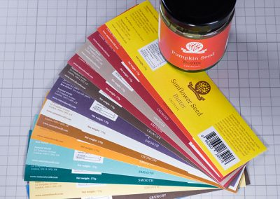 Jar Labels Digitally Printed