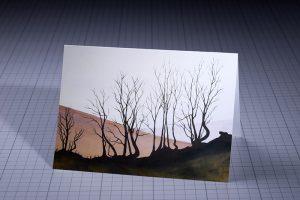 Jo Down Greetings Card