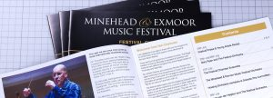 Minehead Music Festival Programme