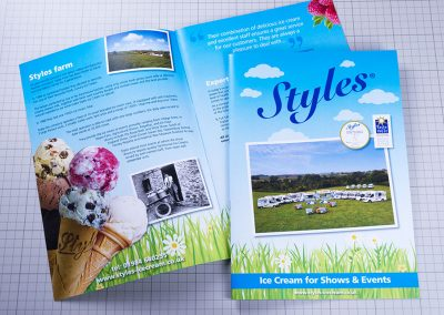 Styles A4 Brochure
