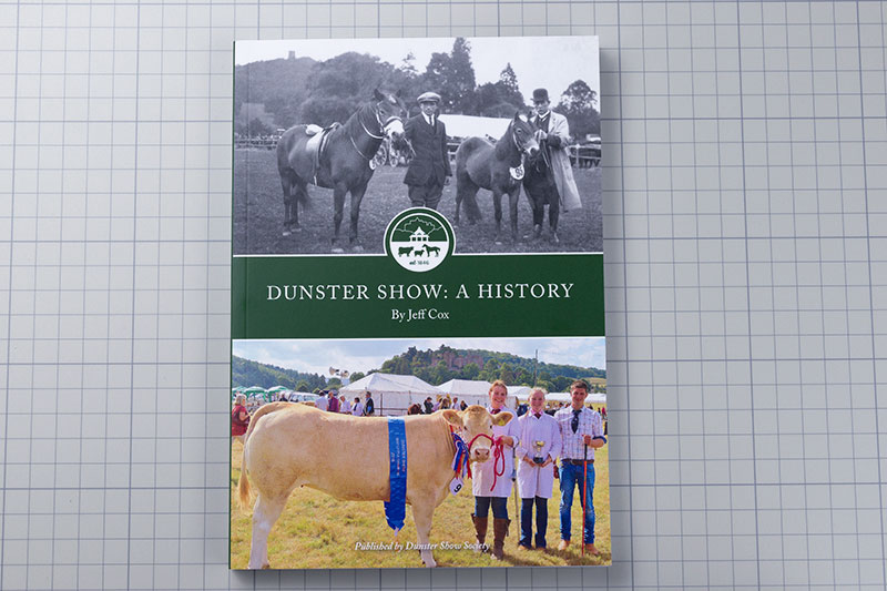 First-Self-Publish-Book-Dunster-Show